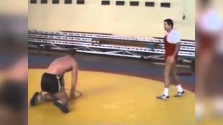 Александр Карелин и Михаил Мамиашвили - Тренировка (1990)