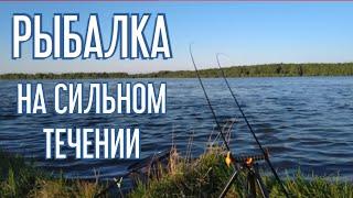 Рыбалка на сильном течении Фидер 2020 Ловля леща и язя