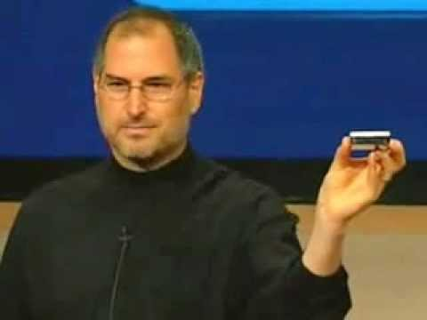 Original iPod 1000 Songs in your pocket by Steve Jobs