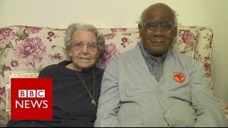 Couple who faced racism mark 73 years   BBC News