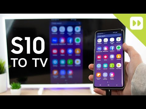 How to connect your phone with TV using USB cable. Connect ...