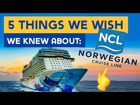 5 Things We Wish We Knew Before Sailing With Norwegian Cruise Line