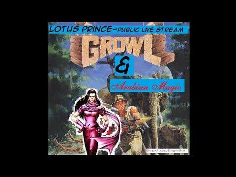 Growl and Arabian Magic (Arcade - PS2) Public Stream (complete)