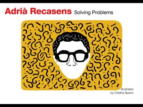 Solving Problems: Adria Recasens at TEDxYouth@Barcelona