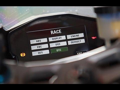 "Ducati 1199 Panigale S -""Das elektronische Menü""--Crashkurs"