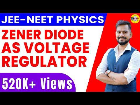 Zener diode  as voltage regulator | zener effect and avalanch effect