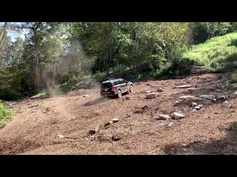 MB GL450 & Isuzu Vehicross off-road at Rush Springs Park