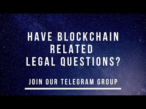 Have Legal Blockchain/Crypto Questions? Join Our Telegram Group | Top Crypto Telegram Group 2019