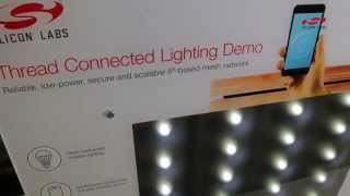 Thread Connected Lighting and Connected Home Demo from Silicon Labs