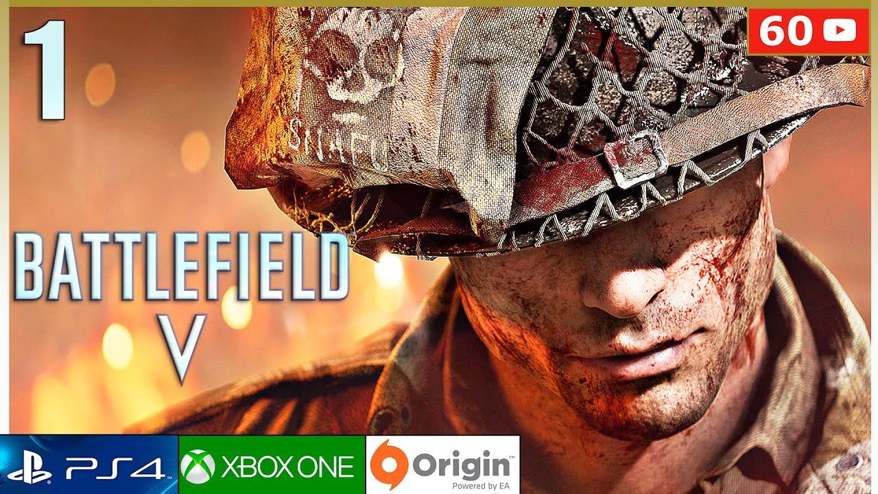 BATTLEFIELD 5 Campaña - Mision 1 Gameplay Español PC 60fps | Modo Historia Parte 1