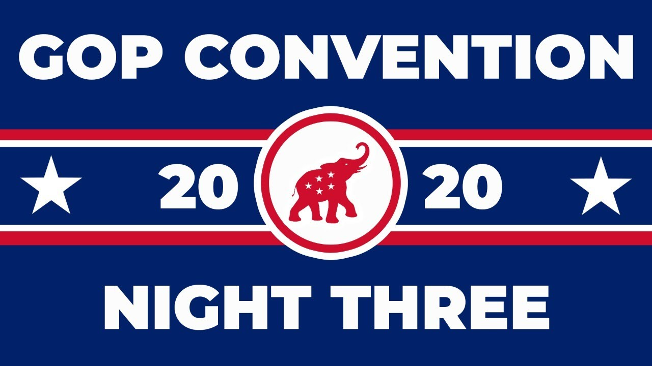 WATCH: Republican National Convention - Night 3: Land of Heroes