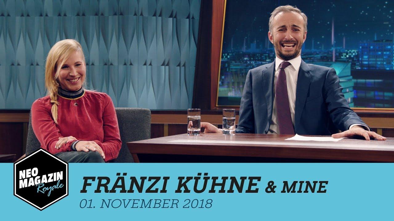 Fränzi Kühne & Mine zu Gast im Neo Magazin Royale mit Jan Böhmermann - ZDFneo