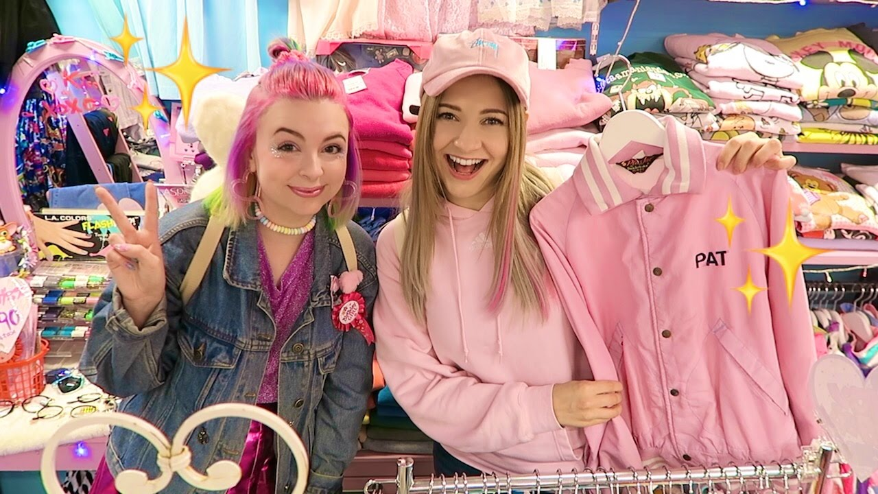 Thrift Shopping In Harajuku Japan Youtube