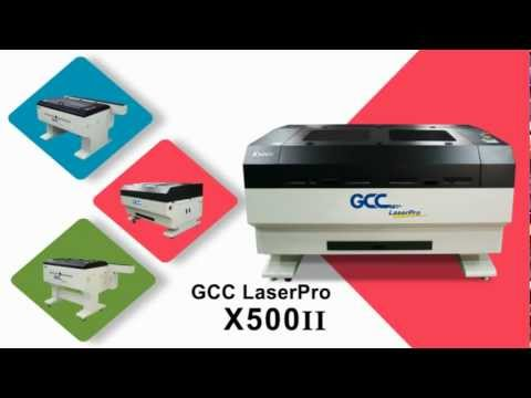 GCC LaserPro---X series Introduction (Laser Cutting Systems)