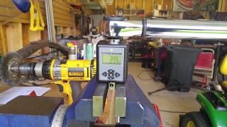 Torque wrench calibration using Harbor Freight Tools digital torque adaptor