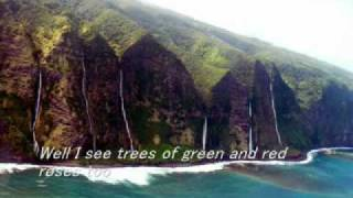 Download lagu Somewhere over the rainbow/ What a wonderful world - Israel Kamakawiwo'ole