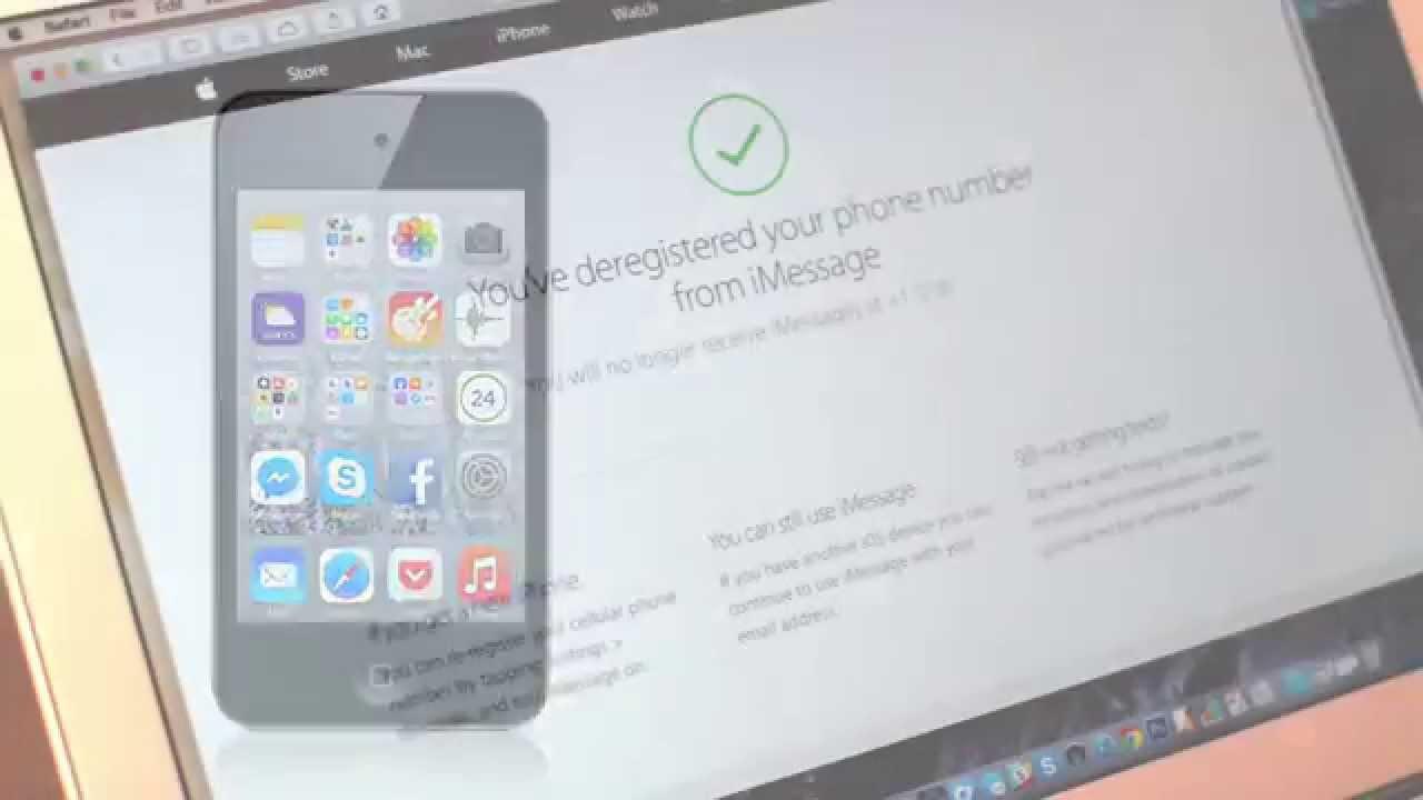 Как отключить iMessage при смене платформы | Лайфхакер