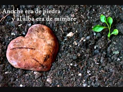 letra cancion corazon de mimbre: