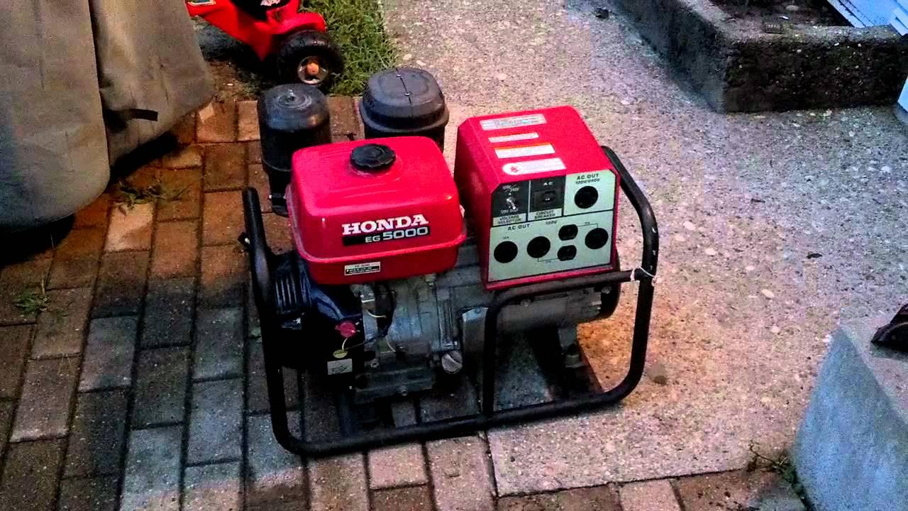 honda eb5000 generator service manual