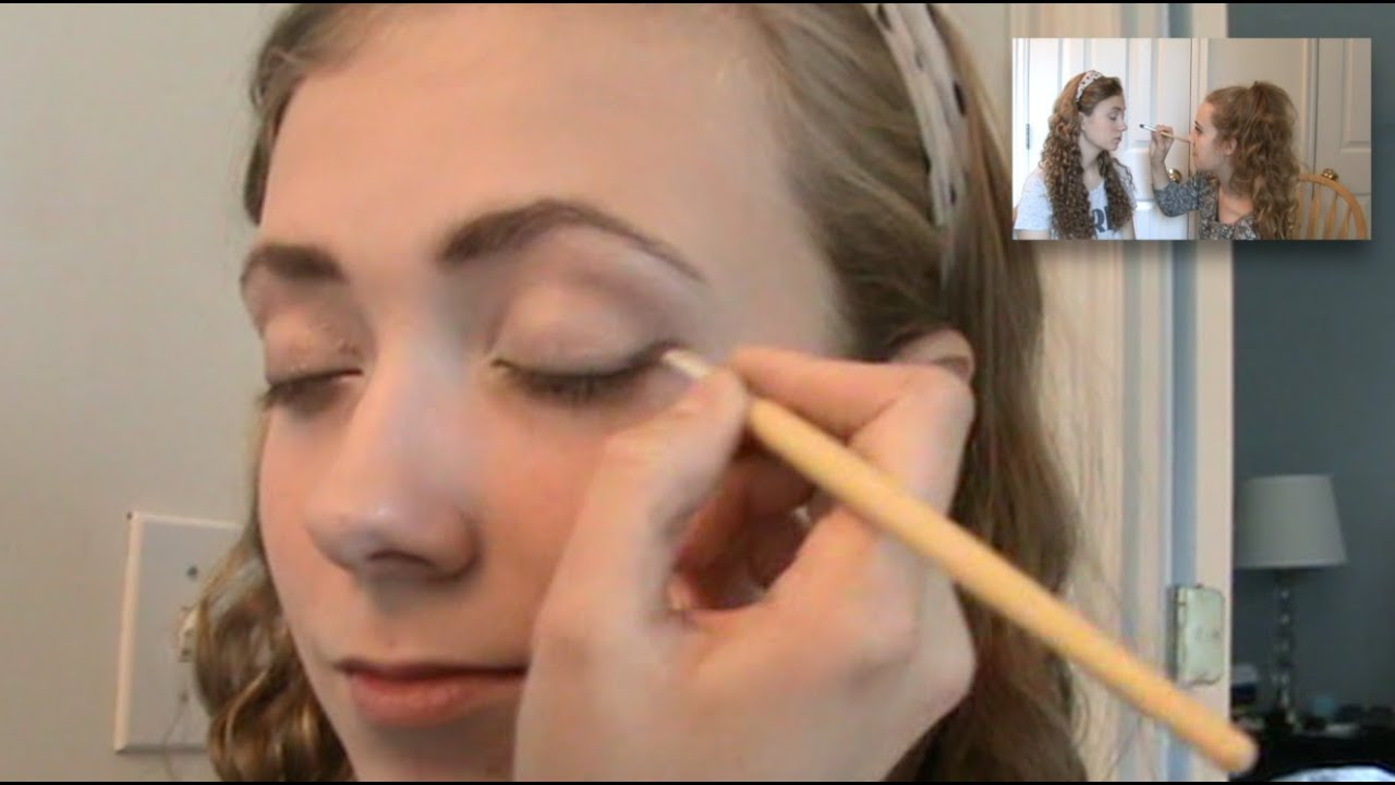 Natural Teen Beauty Homecoming Makeup \u0026 Eyeshadow Tutorial