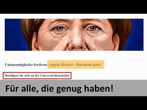 MAX OTTE - Unterschriften für Rücktritt Merkel jetzt