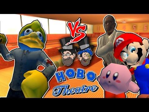 Mario All Starz Bowling || HOBO THEATRE