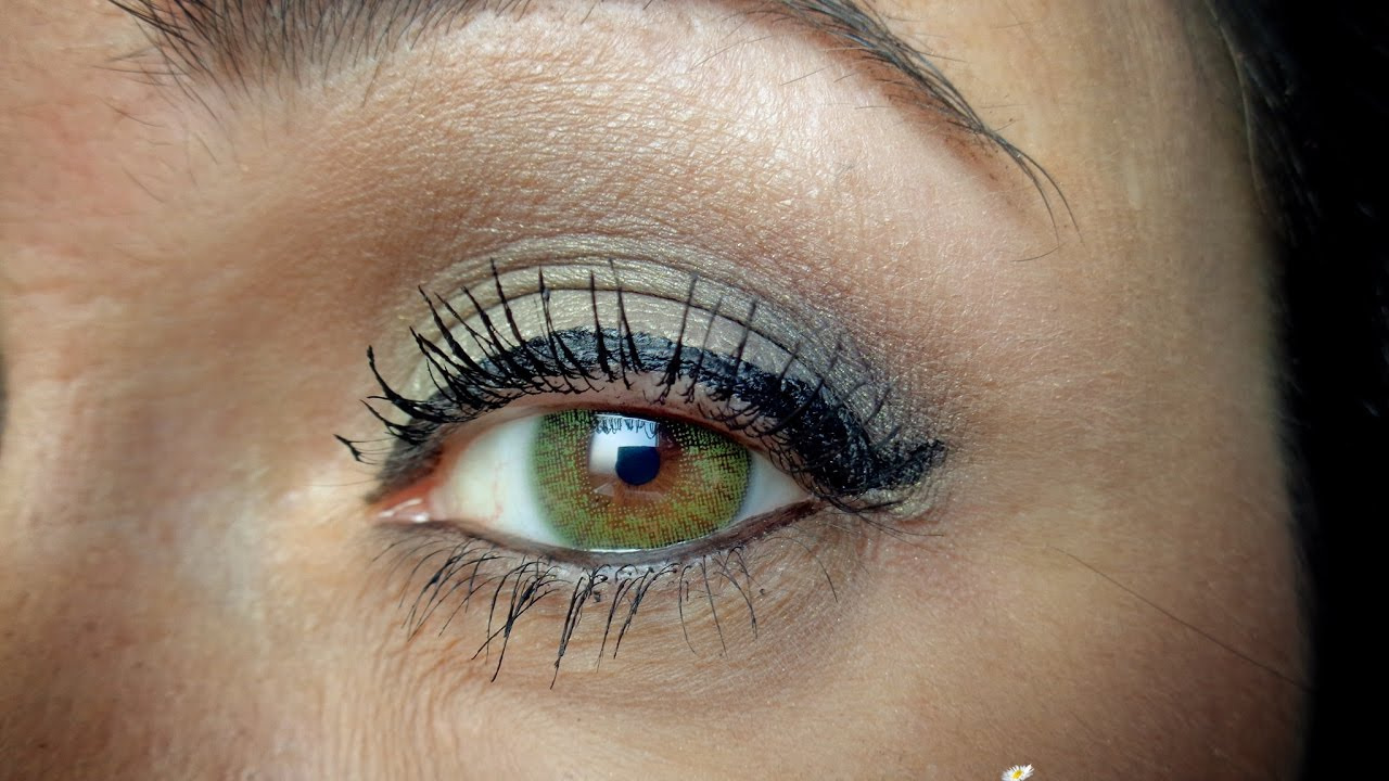 6f092f199f Lentes de contato Verdes - Freshlook Colors - YouTube