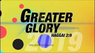 FROM THE GLORY DOME: HEALING & DELIVERANCE /JANUARY 2019 GREATER GLORY (DAY 16) 22.01.2019