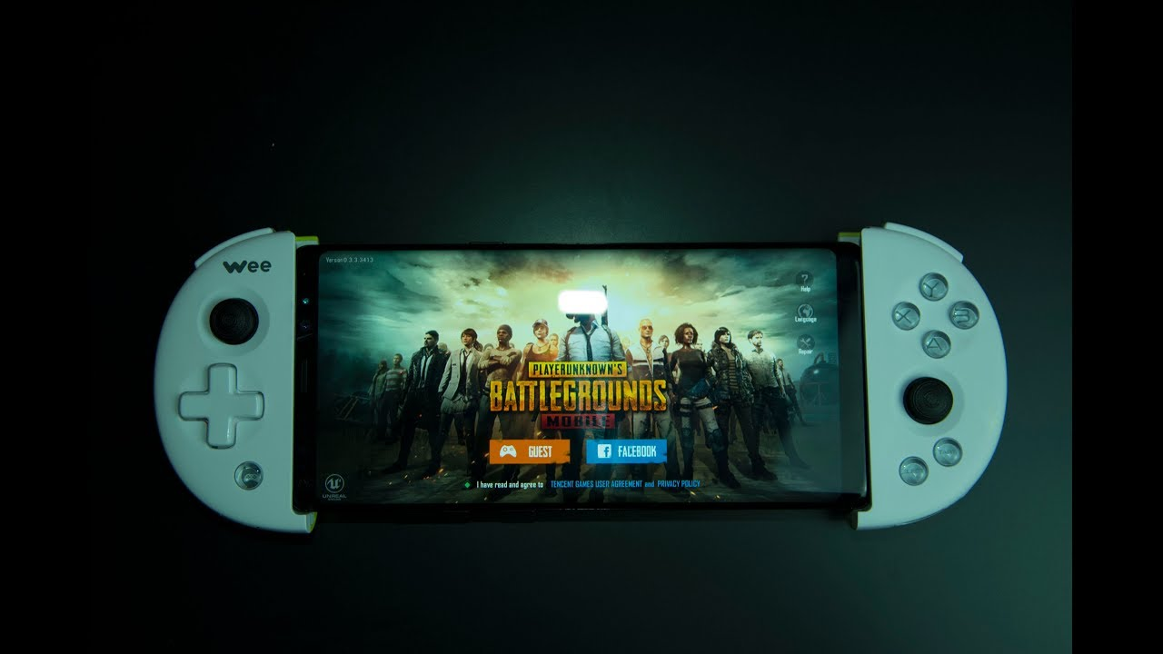 Pubg Mobile Hdr Note 8: V2 PUBG Mobile. How To Use A FlyDiGi Wee Controller In