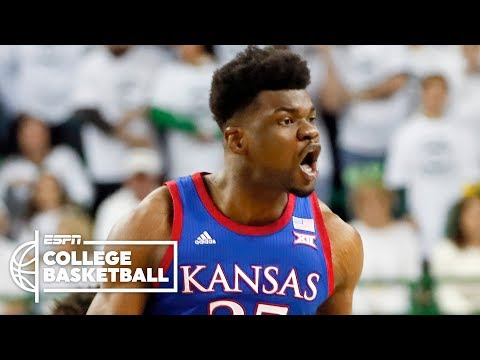 No. 3 Kansas vs. No. 1 Baylor   2019-20 College Basketball Highlights