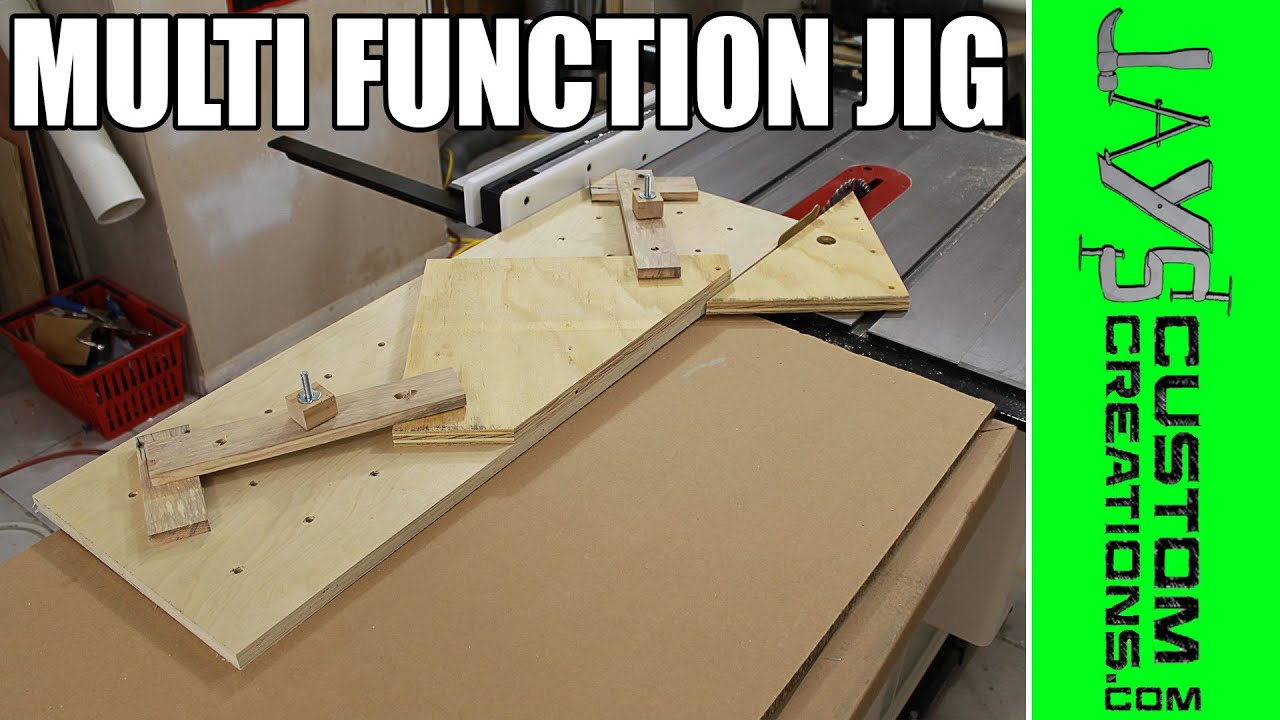 Multi Function Table Saw Hold Down Jig 136 Youtube