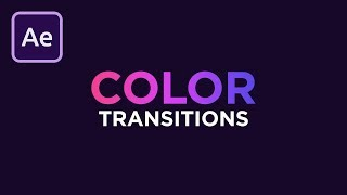 Smooth Color Transitions in After Effects