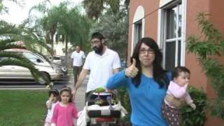 Chanukah Menorah Parade in Kendall Florida