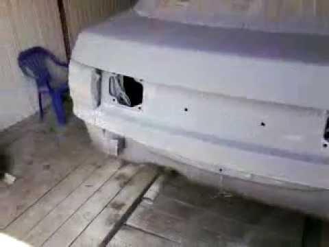 Покраска двери для Крайслер