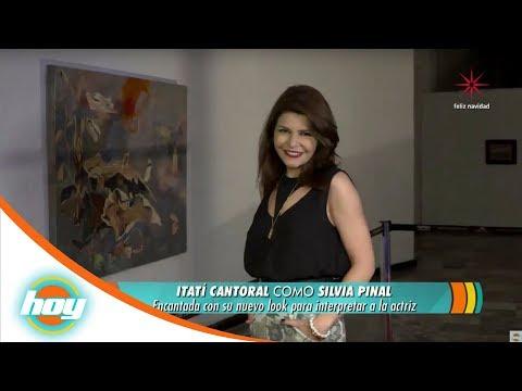 ¡Así se ve Itatí Cantoral como Silvia Pinal!   Hoy
