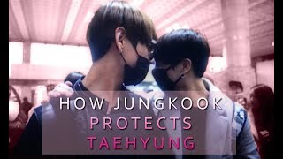 Video How Jungkook Protects Taehyung || Taekook/VKook Evidence download MP3, 3GP, MP4, WEBM, AVI, FLV Agustus 2018