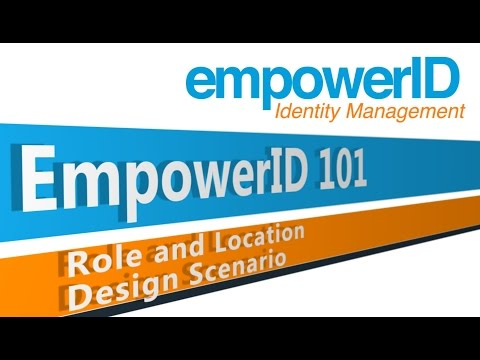 EmpowerID 101 - Role and Location Design Scenario Company 2