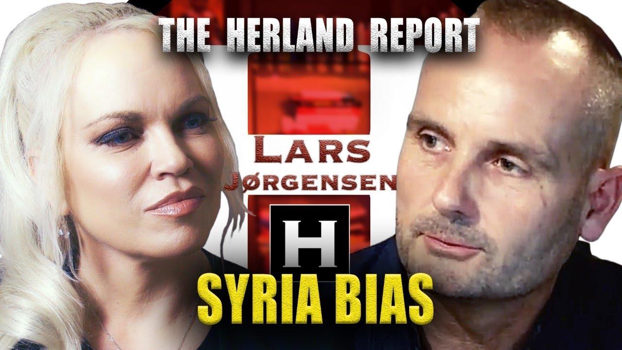 Syria War Bias - Lars Jørgensen, Herland Report TV