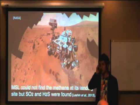 Remote Sensing of Martian Life: Evidence from Mt Haleakala by  Dr. Hiromu Nakagawa