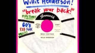 WiLLie HeNdeRSoN -