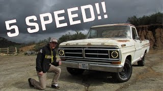 I Drove TheCraig909's 5 Speed Swapped F-100!!!!!
