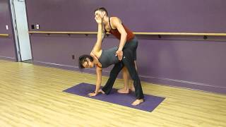 Triangle Pose Assist