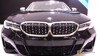 2019 BMW M340i xDrive - Exterior and Interior Walkaround - Debut at 2018 LA Auto Show