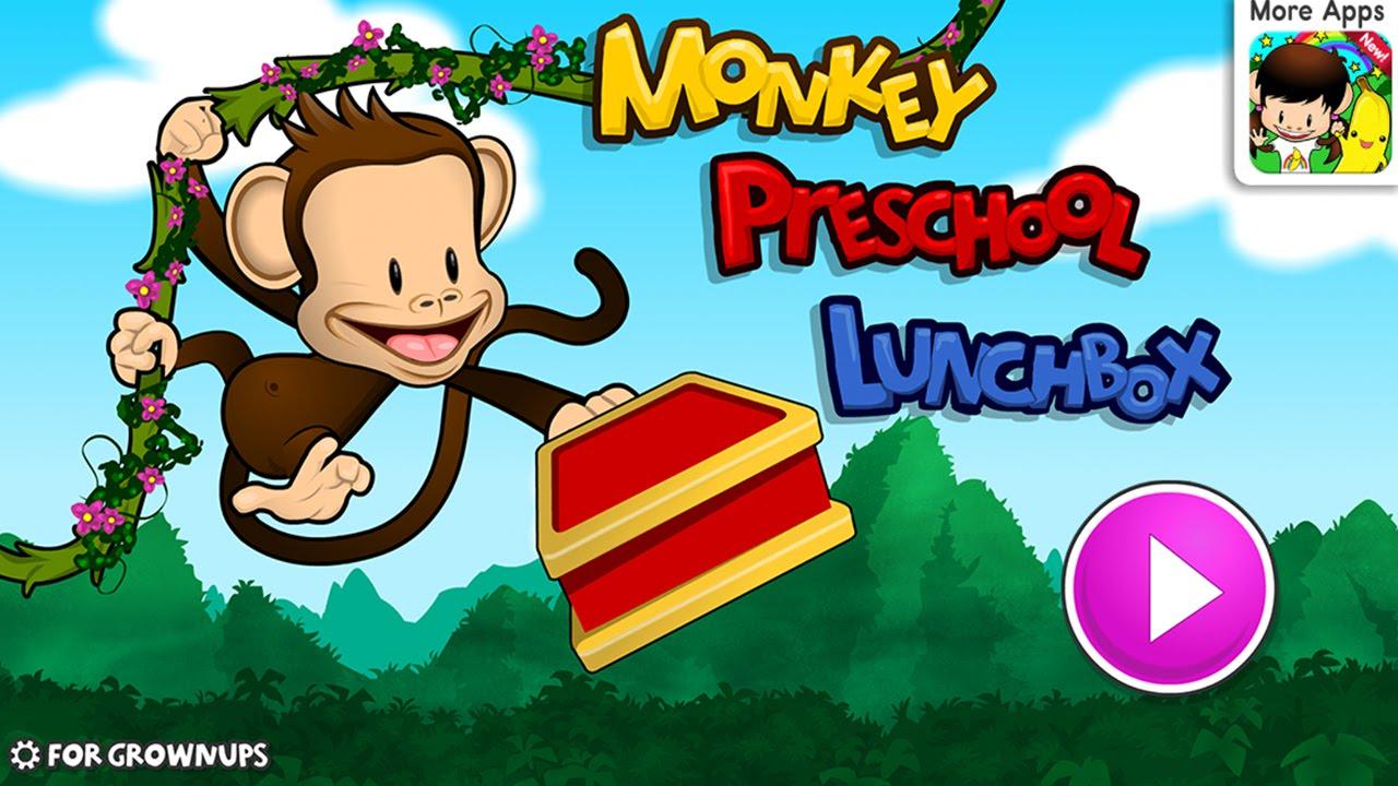 Monkey Preschool Lunchbox Best App For Kids Iphoneipadipod