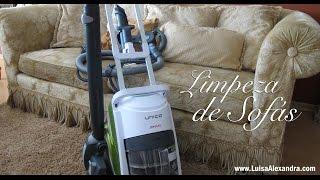 Limpeza de Sofás com o UNICO Allergy Multifloor & Windows • Polti • www.luisaalexandra.com