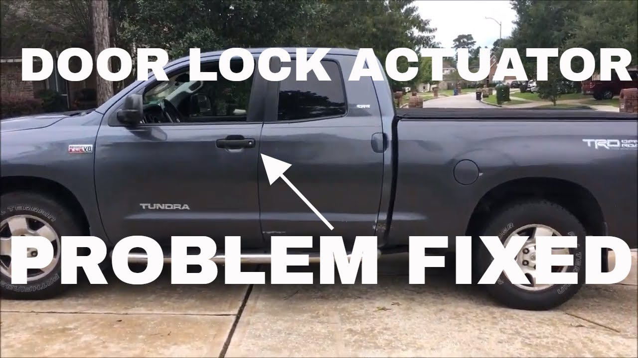 toyota truck door lock wiring diagram watch this video first before changing your door lock actuator on  door lock actuator