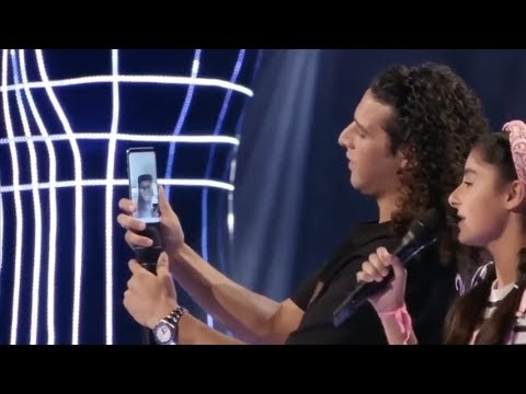 Ali B belt Kenny B bij the voice kids omdat Roya ' Parijs ' zingt (The Voice Kids 2018)