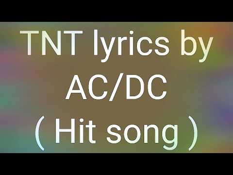 Ac/Dc - TNT song | acdc tnt song | ac/dc lyrics |