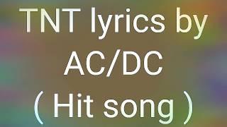 Обложка Ac Dc TNT Song Acdc Tnt Song Ac Dc Lyrics