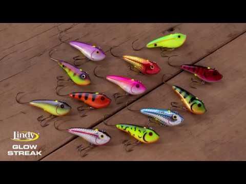 Lindy Glow Streak Lipless Bait - Ice Fishing